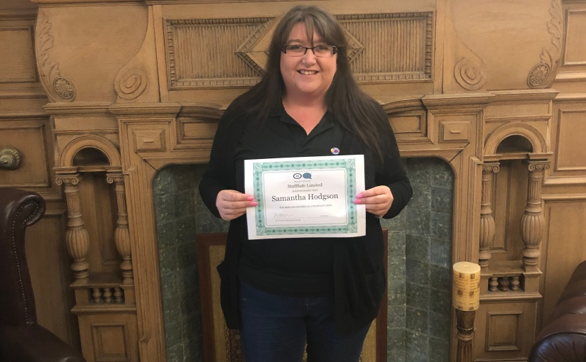 Meet Samantha Hodgson – our latest StaffSafe Hero